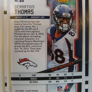 5a94715e3c1a7a20b350065d Wall Art - Denver Broncos Demarius Thomas